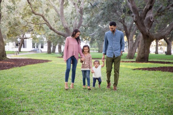 The Hart Family Downtown Charleston