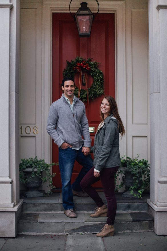 Alyssa & Zach Downtown Charleston