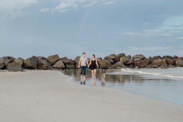 Ashley & Matt Folly Beach
